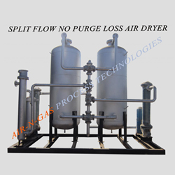 Split Flow No Purge Loss Dryer